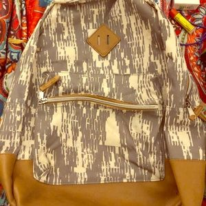 Handbags - Unique patterned full size backpack